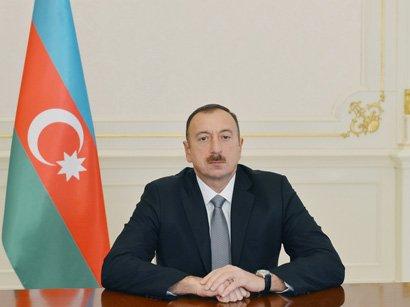 Соболезнование Президента Ильхама Алиева в связи с авиакатастрофой в  России