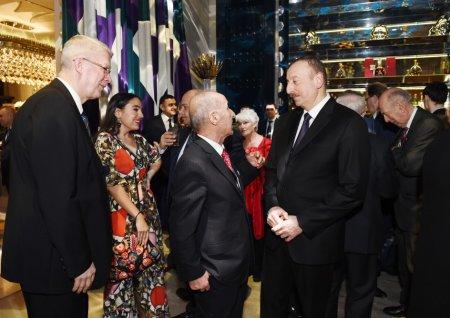 От имени президента Азербайджана был устроен прием в честь участников IV Глобального Бакинского форума
