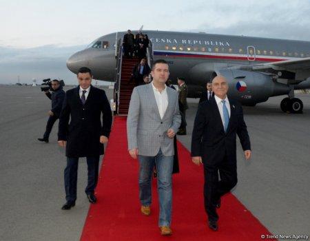 Парламентарии Чехии прибыли в Азербайджан