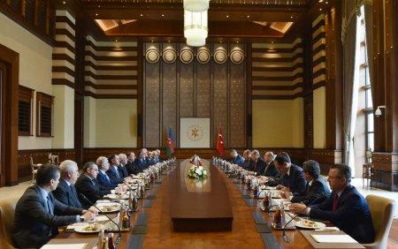 Пятое заседание Совета стратегического сотрудничества Турция-Азербайджан состоялось в Аанкаре