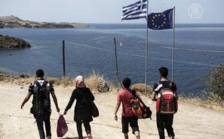 Греция начнет возвращать мигрантов в Турцию