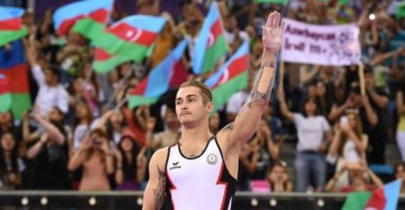 Команда Азербайджана по спортивной гимнастике выиграла две медали на Кубке мира в Дохе.