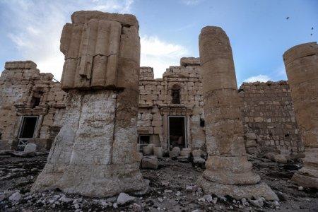 Пальмира была одним из основных городов  на древнем Шелковом пути