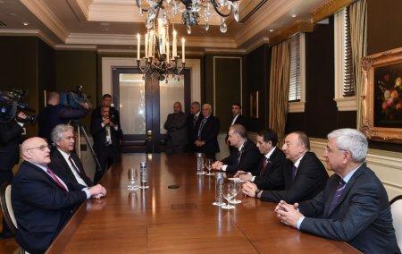 Встречи Ильхама Алиева во время пребывания в США на саммите по Ядерной безопасности