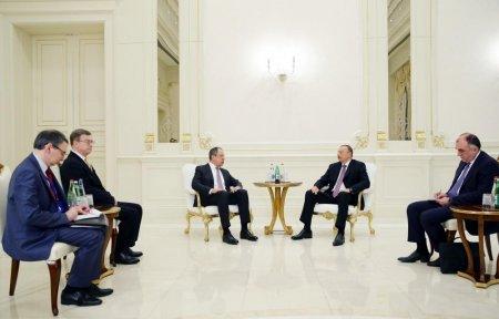 Сергей Лавров в Баку: У России есть предложения по урегулированию карабахского конфликта