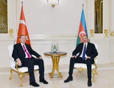 Президент Ильхам Алиев принял Президента Турции Реджепа Тайипа Эрдогана