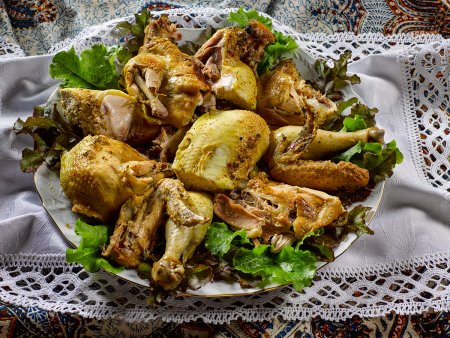 Курица тетушки Хураман