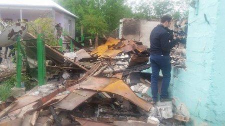 Иностранные журналисты посетили населенные пункты, подвергшиеся обстрелу военных формирований Армении