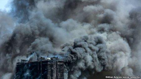 Дело о пожаре в 16-этажном здании в Бинагадинском районе передано в суд