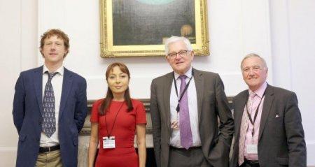 Наргиз Пашаева и  британский лорд Малкольм Брюс создали новую организацию в Лондоне