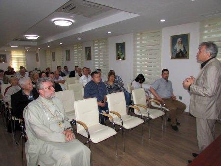 """Землячество казаков в Азербайджане открыло цикл встреч в рамках проекта """"Казаки вчера, сегодня, завтра""""."""