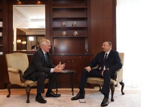 Ильхам Алиев проводит встречи в Берлине. Обновлено