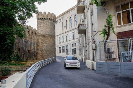 Как выглядит трасса в Баку накануне Гран-при Европы Формулы-1 -