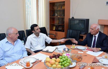 В Институте истории НАНА состоялась встреча с советником проекта Европейского союза