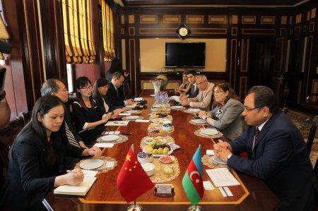 Делегация КНР посетила Бакинский государственный университет