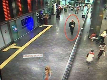 Опубликовано фото смертника, взорвавшего себя в аэропорту Стамбула