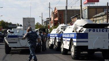 Все задержанные в связи с захватом отделения полиции в Ереване освобождены