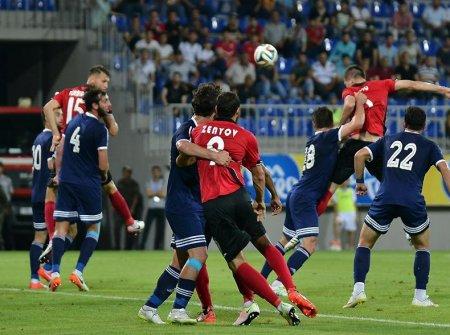Первый матч 1-го квалификационного раунда Лиги Европы по футболу завершился  победой ГАБАЛА (Азербайджан)