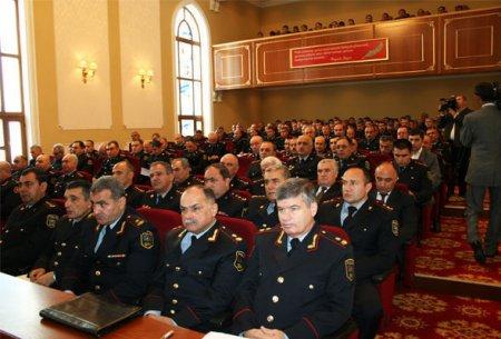 Азербайджанская полиция отметила свой профессиональный праздник