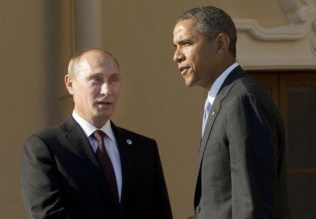 По инициативе российской стороны состоялся телефонный разговор президента Российской Федерации Владимира Путина с президентом США Бараком Обамой, стороны обсудили урегулирование в Карабахе, Сирии и Донбассе,
