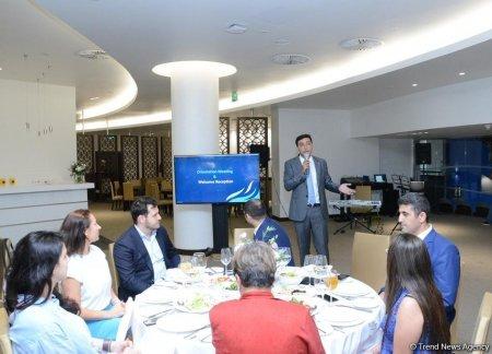 В Баку встретились главы делегаций, прибывших на Кубок мира по художественной гимнастике